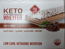 Load image into Gallery viewer, KETO WHEYFER - COFFEE CREAM - 35G