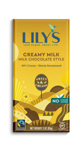 Load image into Gallery viewer, LILY'S 40%  DARK CHOCOLATE - CREAMY MILK -85G (4610825519155)