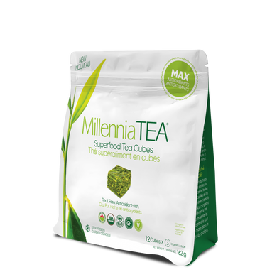 MILLENNIA TEA - SUPERFOOD TEA CUBES - 12 PACK 162G (4611970891827)