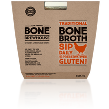 Load image into Gallery viewer, BONE BREWHOUSE - CHICKEN AND VEGETABLE BROTH - 600ML (4613922160691)