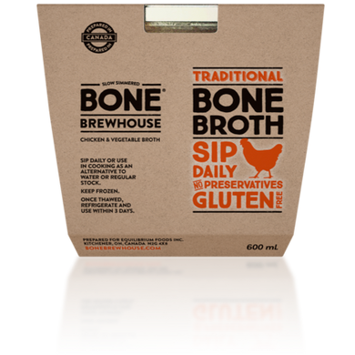 BONE BREWHOUSE - CHICKEN AND VEGETABLE BROTH - 600ML (4613922160691)