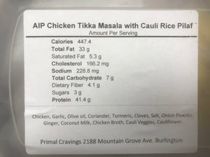 PRIMAL CRAVINGS AIP CHICKEN TIKKA MASALA (4617140928563)
