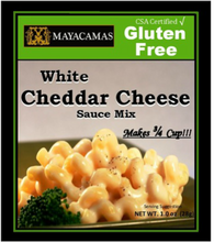 Load image into Gallery viewer, MAYACAMAS - WHITE CHEDDAR CHEESE SAUCE - 28G (4618002661427)