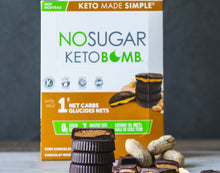 Load image into Gallery viewer, VEGANPURE - KETO BAR - CHOCOLATE PEANUT BUTTER - 40G (4611757375539)
