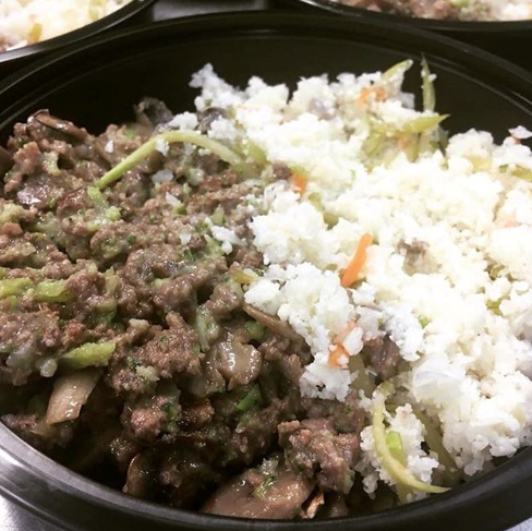 PRIMAL CRAVINGS AIP BEEF STROGANOFF WITH VEGGIE CAULIFLOWER RICE (4617138700339)