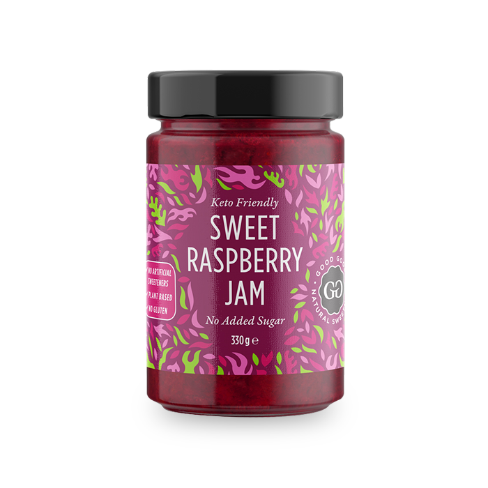 GOOD GOOD SWEET RASPBERRY SPREAD - 300ML (4623738798131)