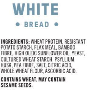 CARBONAUT - WHITE BREAD - 544G