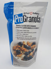 Load image into Gallery viewer, JULIAN BAKERY PRO GRANOLA - VANILLA CINNAMON CLUSTER 555G (4664704139315)
