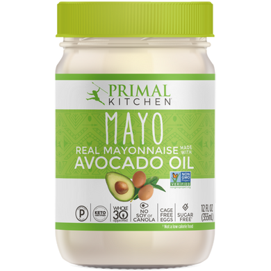 PRIMAL KITCHEN - MAYONNAISE WITH AVOCADO OIL - 355ML (4610745368627)