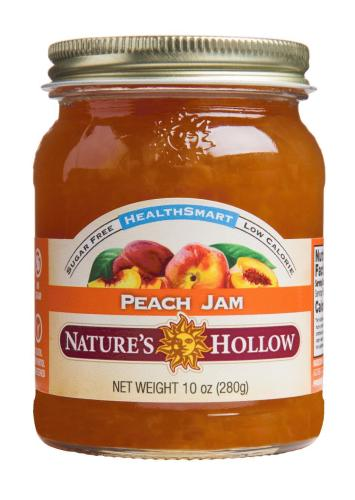 NATURES HOLLOW - HEALTHSMART PEACH SPREAD - 355ML (4619877285939)