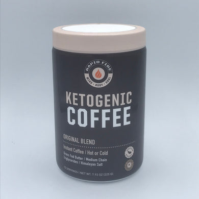 RAPID FIRE - KETOGENIC COFFEE - 225G (4658130649139)
