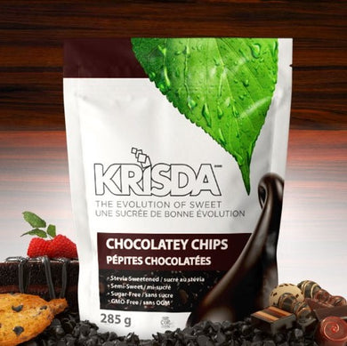 KRISDA - SEMI-SWEET CHOCOLATE CHIPS - 285G (4603669282867)