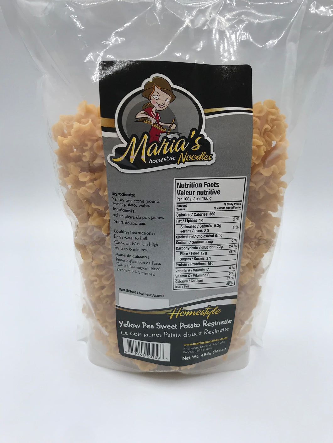 MARIA'S HOMESTYLE YELLOW PEA SWEET POTATO REGINETTE (4602768850995)