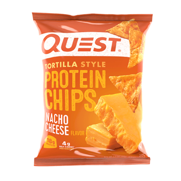 QUEST CHIPS - NACHO CHEESE - 18G (4611889397811)