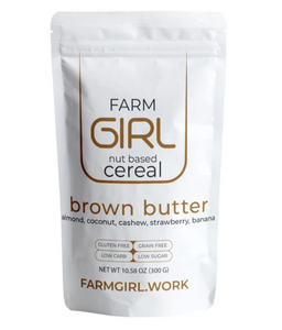 FARM GIRL CEREAL - BROWN BUTTER - 300G