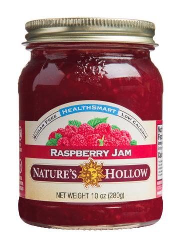NATURES HOLLOW - HEALTHSMART RASPBERRY SPREAD - 355ML (4619878039603)