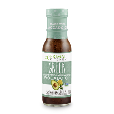 PRIMAL KITCHEN - GREEK VINAIGRETTE - 237ML (4610717155379)
