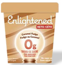 Load image into Gallery viewer, ENLIGHTENED KETO ICE CREAM - CARAMEL FUDGE - 473ML