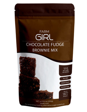 FARM GIRL - CHOCOLATE FUDGE BROWNIE MIX - 300G (4617157705779)