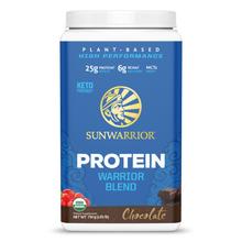 Load image into Gallery viewer, SUNWARRIOR - VEGAN WARRIOR BLEN PROTIEN - CHOCOLATE - 750G (4610809659443)