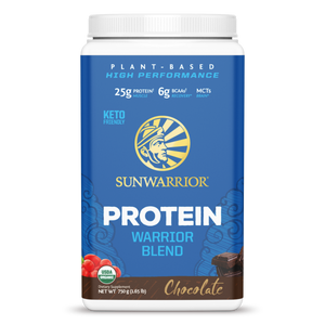 SUNWARRIOR - VEGAN WARRIOR BLEN PROTIEN - CHOCOLATE - 750G (4610809659443)