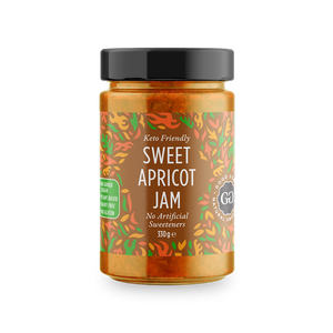 GOOD GOOD SWEET APRICOT SPREAD - 300ML (4623741452339)