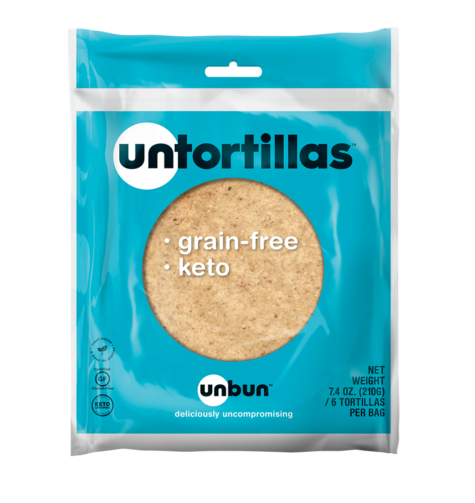 UNBUN - KETO UNTORTILLA - 6 PACK - (4645361254451)