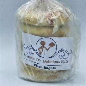 MAMMA D'S PIZZA BAGELS - 6 PACK (4619863425075)