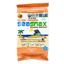 Load image into Gallery viewer, SEA SNAX SEAWEED - TOASTY ONION - 5G