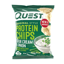 Load image into Gallery viewer, QUEST CHIPS - SOUR CREAM & ONION - 18G (4611900932147)