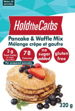 Load image into Gallery viewer, HOLD THE CARBS - LOW CARB PANCAKE AND WAFFLE MIX - 320G (4603657584691)