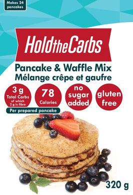 HOLD THE CARBS - LOW CARB PANCAKE AND WAFFLE MIX - 320G (4603657584691)