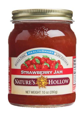 NATURES HOLLOW - HEALTHSMART STRAWBERRY SPREAD - 355ML (4619897897011)