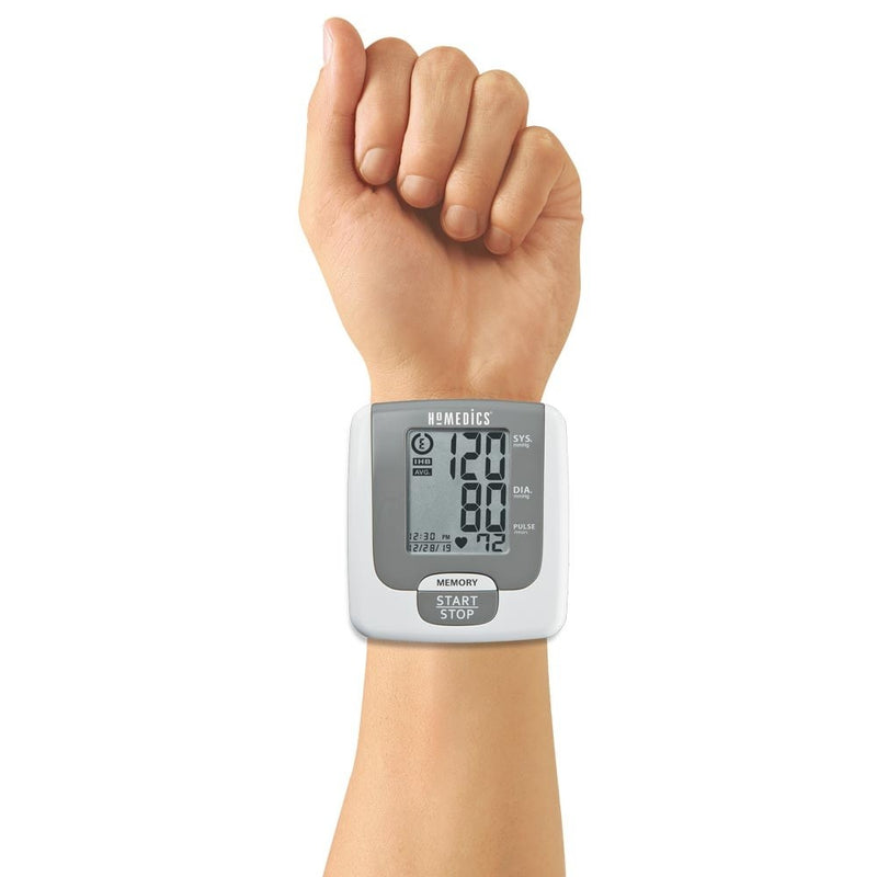 Automatic Wrist Blood Pressure Monitor with Smart Measure™ Technology