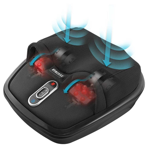 Shiatsu Air Max Foot Massager with heat
