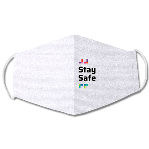 "White Mask ""Stay Safe"""
