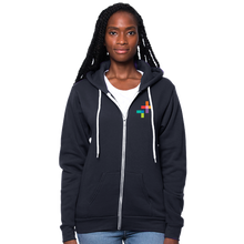 Load image into Gallery viewer, The Future is Feminist - Organic RPET Fleece Full-Zip Hoodie