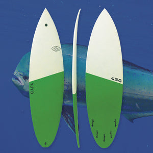 YUYO mahi mahi shortboard performance
