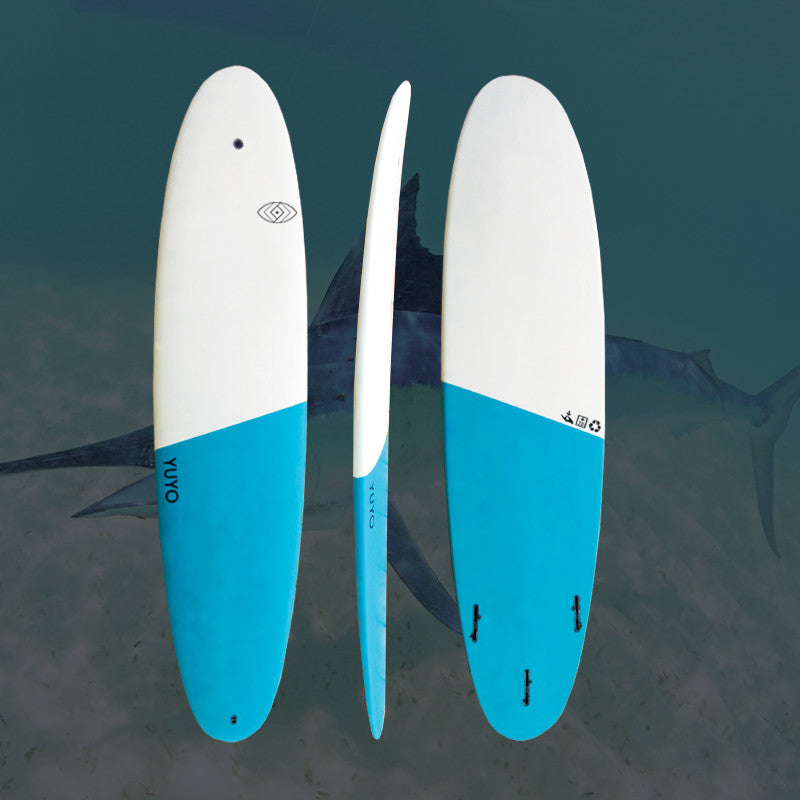 yuyo minimalibu evolutive 3D printed surfboard Marlin