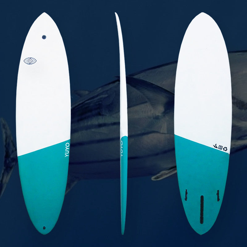 yuyo mid length single fin