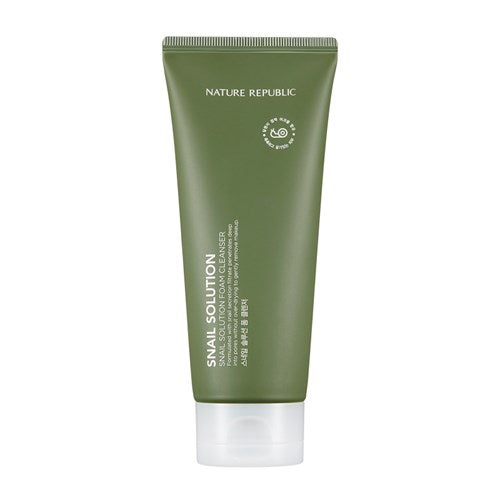 NATURE REPUBLIC SNail Solution Foam Cleanser 150ml