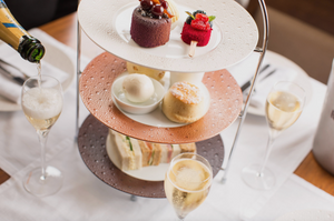 Classic Bohemian Afternoon Tea for Two inc Champagne