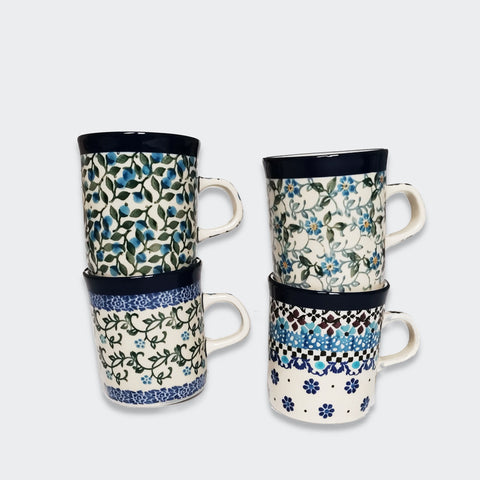 Four Small Coffee Mugs
