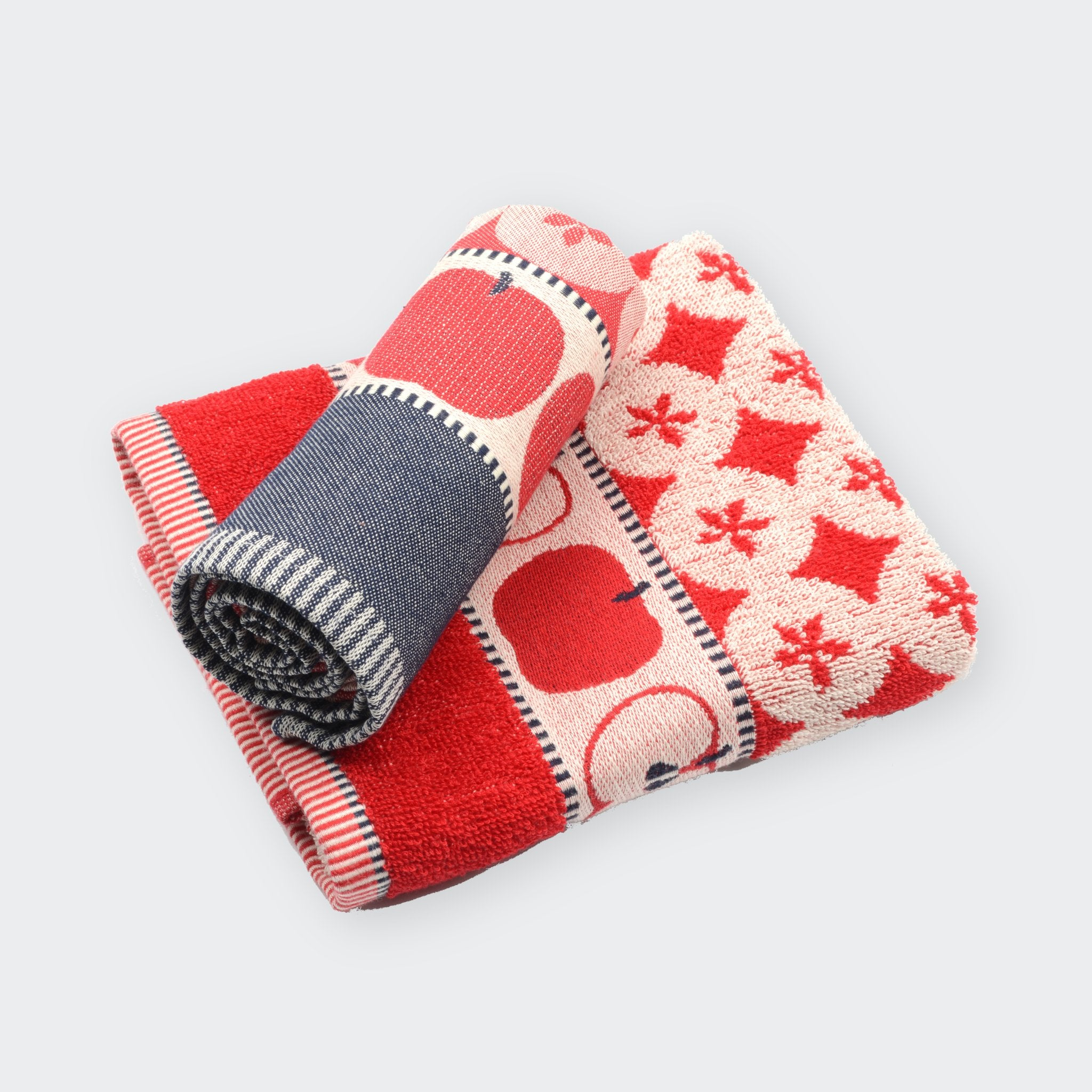 Kitchen Towel in Red Apple