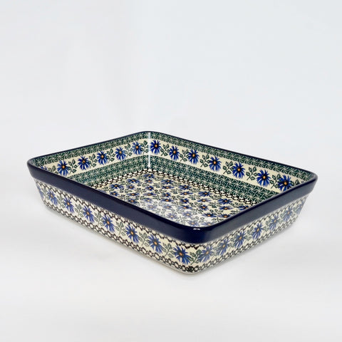 Large Lasagne Dish in Cornflower