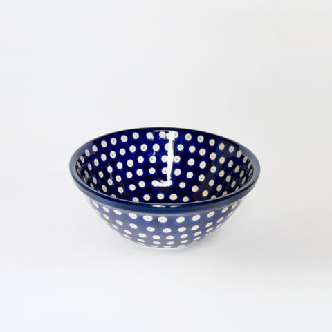 Small Serving Bowl in Blue Eyes
