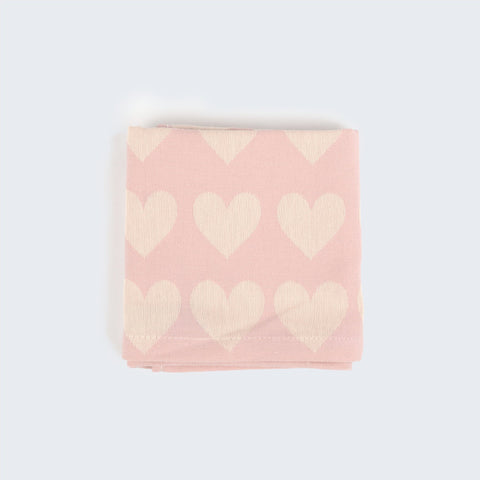 Teatowel in Pink Hearts