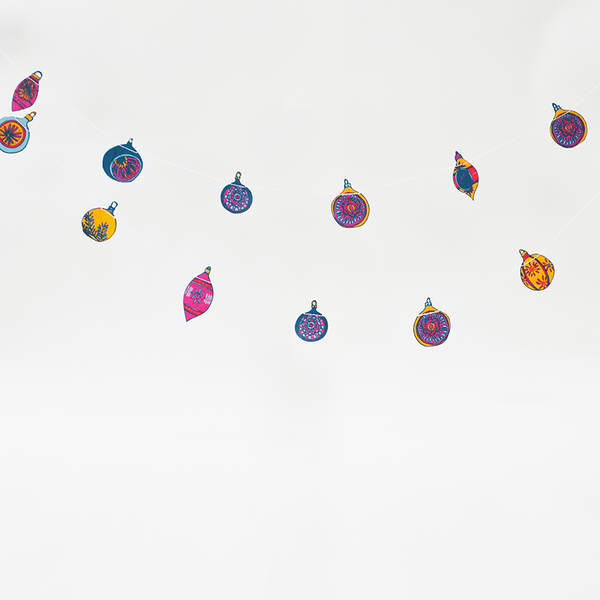 3m Bauble Garland