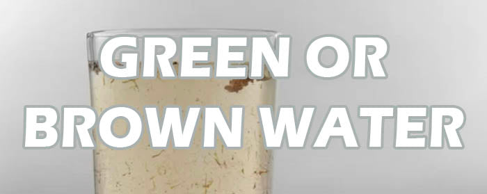 Fix green hot tub water and brown spa water