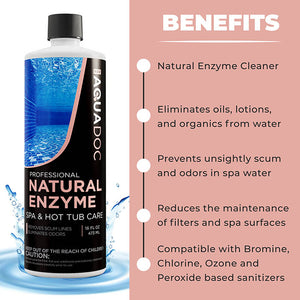 Natural Spa Enzyme for Hot Tubs